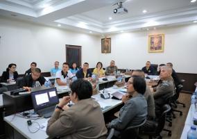 พล.ต.ต.อภิชาติ เพชรประสิทธิ์ เป็นประธานการประชุมเตรียมความพร้อมการจัดการประชุมสุดยอดอาเซียน ครั้งที่ 35