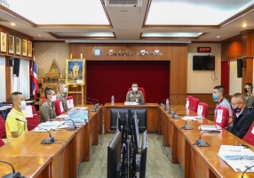 ประชุมการเตรียมความพร้อมรอรับการตรวจราชการของ จต. ประจำปีงบประมาณ พ.ศ.2563 ครั้งที่ 1/2563
