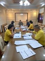 การประชุมจัดทำคำชี้แจง สตง. กรณีตรวจสอบการจัดซื้อจัดจ้างและบริหารพัสดุของ บช.ส. ครั้งที่ 2 พร้อมผู้ที่เกี่ยวข้องฯ