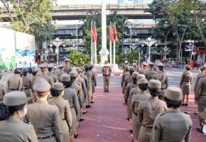กิจกรรมเคารพธงชาติ ประจำเดือน ม.ค.2564