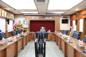 ประชุมคณะกรรมการผู้บริหารเทคโนโลยีสารสนเทศระดับสูง ตร. (DCIO ตร.) ครั้งที่ 1/2564